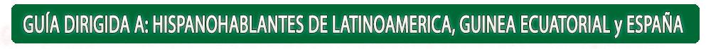 guia dirigida hispanohablantes