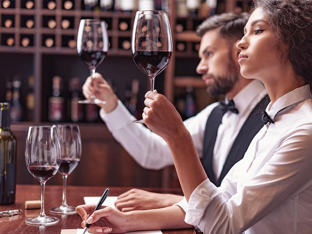 análisis sensorial del vino