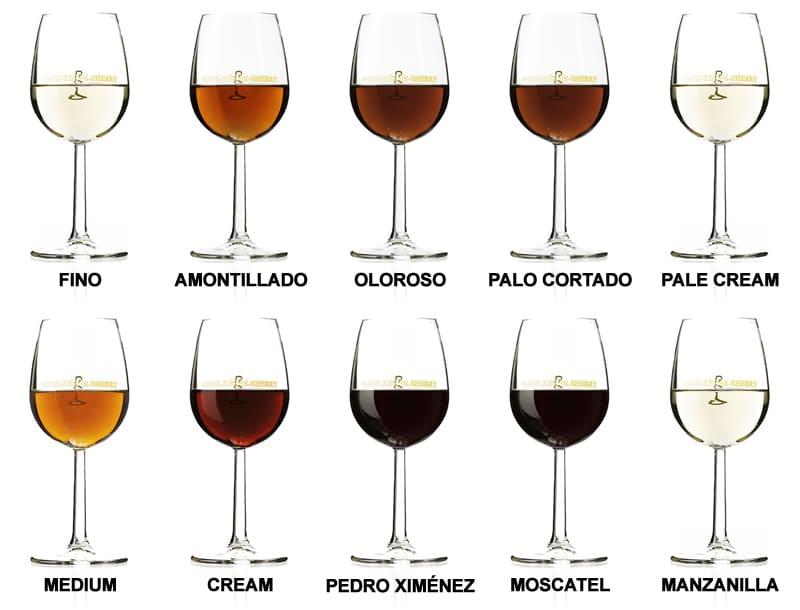 vinos de jerez generosos