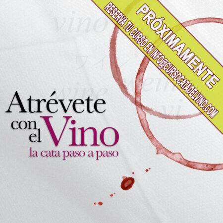 """Curso online """"Atrévete con el Vino""""."""