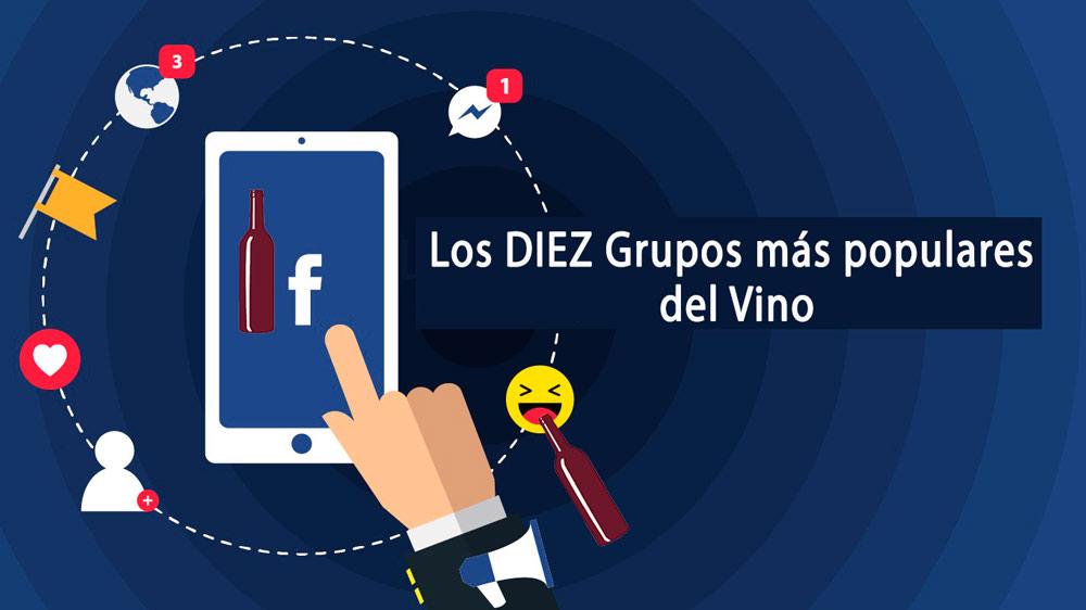 grupos de Facebook más populares del Vino