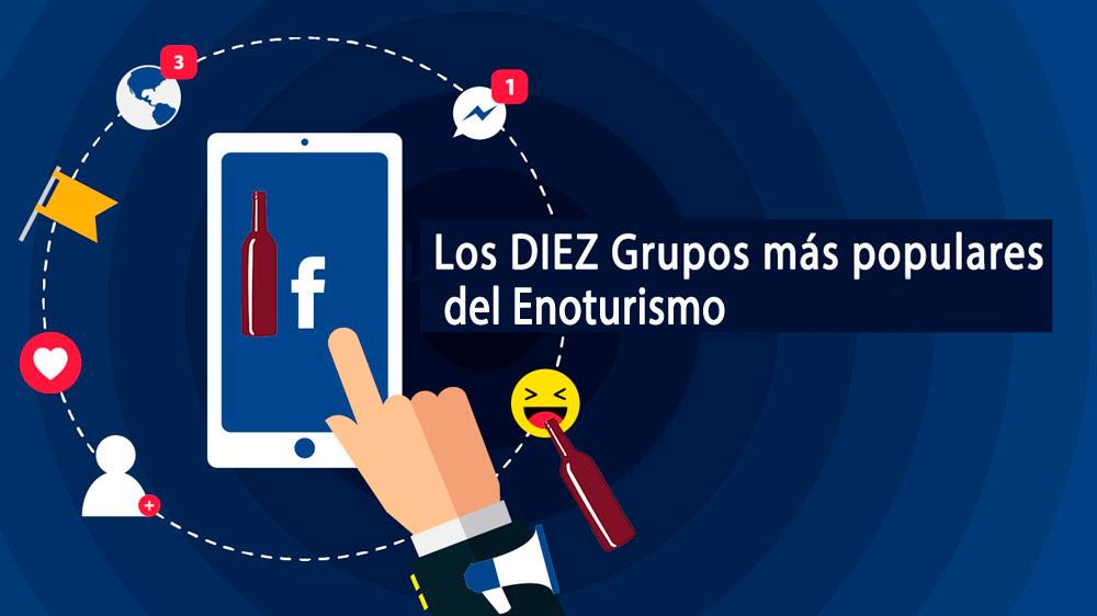 grupos de facebook más populares de enoturismo