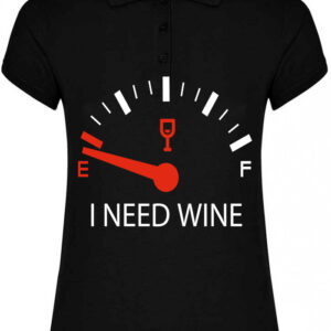 Polo WineLover Mujer