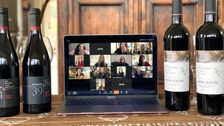 zoom vino