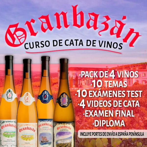 Curso de cata de Vinos Granbazán